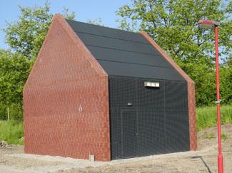 Prefab Garages Beton : Prefab betonnen technische ruimtes de jong beton